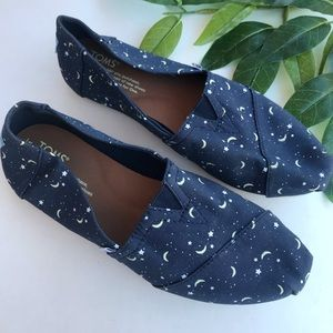 TOMS Classic Canvas with Glow in the Dark Moons